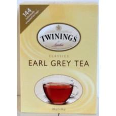 Tea - Twinning Brand - Earl Grey  / 1 x 144 Tea Bags