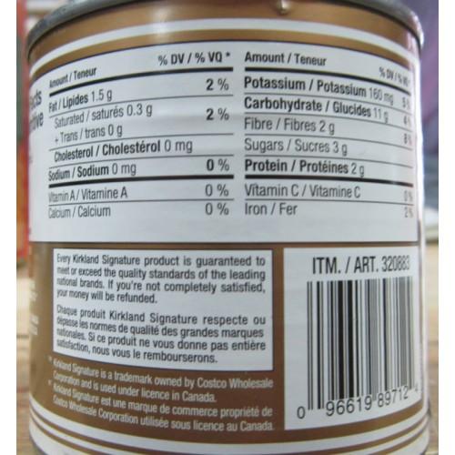 Corn Kirkland Brand Peaches Amp Cream Whole Kernel 12