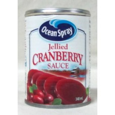 Cranberry  - Cranberry Jelly Sauce - Ocean Spray Brand  /  1 x 348 mL / Can