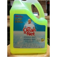 Cleaner - All Purpose Cleaner - MR. Clean -  Disinfectant - Summer Citrus Scent / 1 x 5.2 Liter Jug / Jumbo Size