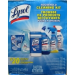 "Cleaner - Lysol Brand - Household Cleaning Kit - 6 Item Multi Pack - Only 4 In Stock - Priced To Clear / 1 x 1 Box""""See Pictures For More Details"""""