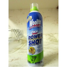 "Cleaner - Carpet Cleaner - Woolite Brand - Spot & Stain Carpet Cleaner - Power Shot - OXY Deep / 1 x 396 Gram Can / Finger Push Button For Spraying""""See Pictures For More Details"""""