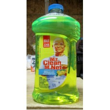 Cleaner - Multi-Purpose - Disinfectant - Mr Clean Brand - 1 x 1.2 Liter Summer Citrus Scent