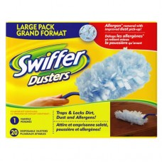 Cleaner - Swiffer - Dusters - 1 Handle With 20 Unscented Disposable Dusters