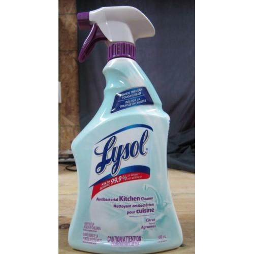 cleaner lysol kitchen sprayer