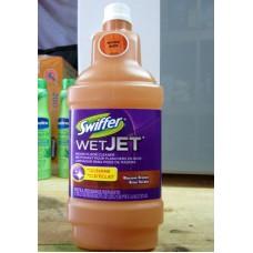 Cleaner - Swiffer - Wet Jet Wood Floor Cleaner Liquid Refills - Wood Floor Cleaner - Blossom Breeze Scent / 1 x 1.25 Liter Bottle