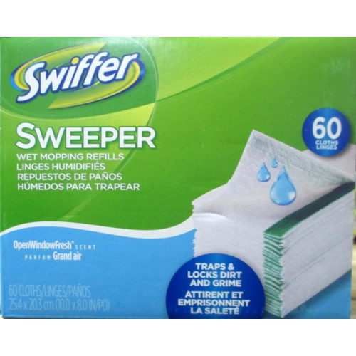Swiffer Wet Jet Refill Sheets Floor Cleaner Cleaning