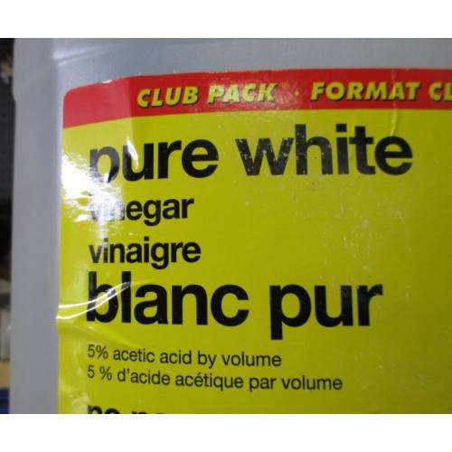 Vinegar No Name Brand 1 X 4 Liter