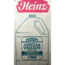 Vinegar - Heinz Brand  / 2 x 5 Liter Plastic Jugs  / Boxed Item