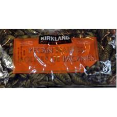 Nuts - Pecan - Pecan Halves - Kirkland Brand 1 x 907 Grams / 2 lbs