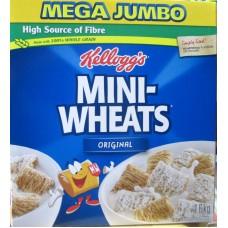Cereal - Kellogg's Brand - Mini Wheats / 1 x 1.2 Kg Box