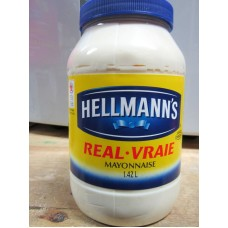 Dressing - Mayonnaise -  Hellmann's Brand / 1 x 1.8 Liter