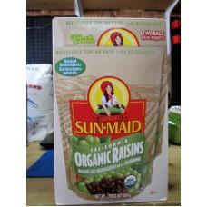 Raisins - Sun-Maid Brand - California Organic Raisins - Organic Product - Comes In Two Recloseable Bags / 1 x 1814 Gram Box / 4 Lb Box