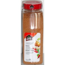 Spice - Taco Seasoning - Clubhouse Brand / 1 x 735 Gram