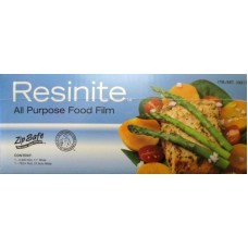"""Ziploc - Food Wrap - Pastic Food Wrap With Zip Safe Slide Cutter Box - All Purpose -  Resinite Brand - 1 x Roll of 2500 ft. - ( 11"""" Wide x 2500 ft.)"""