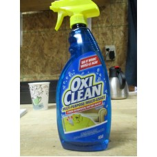Detergent - Laundry Stain Remover - OxiClean Brand - Multi-Purpose Stain Remover - Chlorine Free / 1 x 636 ml Trigger Sprayer
