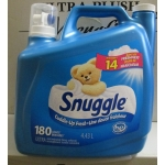 Detergent - Liquid Laundry -  Snuggle Brand - Fabric Softner -  Snuggle Ultra Concentrated Fabric Softner - HE Product - 180 Loads / 1 x 4.43 Liter