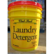Detergent - Laundry Powder - No Name Brand - - Club Pack Laundry Detergent - Powder / 1 x 14.5 Kg Pail With Handle / 150 Washloads