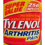 Tylenol - Arthritis Pain Caplets - 650 mg - Fast & Long Lasting / 1 x 250 Caplets / ON SPECIAL / 2 LEFT ONLY
