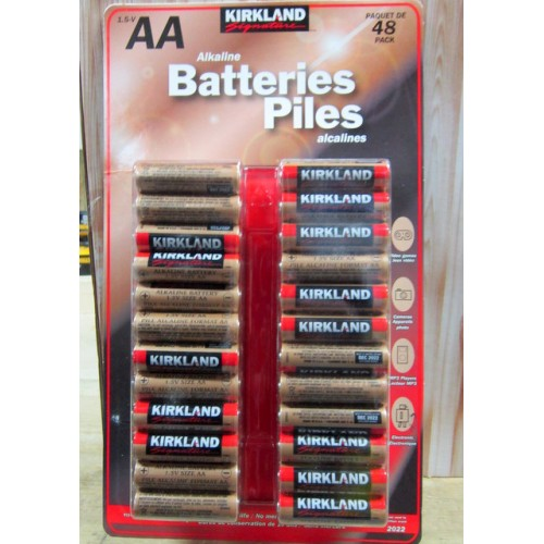 Aa battery life brand comparison