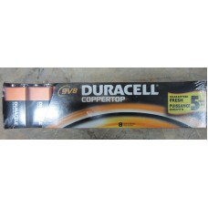 Batteries - Duracell Brand - 9 Volt 1 x 8 Batteries