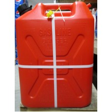 Fuel Cans - Military Style Plastic Fuel Can - 20 Liter Capacity - 5.3 Gallon - Child Resistant Closure / 2 x 20 Liter Cans''See Pictures For More Details''