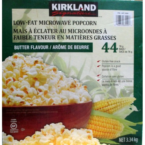 Low Fat Microwave Popcorn 86