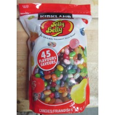 Candy - Jelly Bean - Kirkland Brand - Jelly Belly - The Original Gourmet Bean / 1 x 1.1 Kg Bag