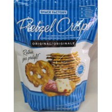 Chips -  Pretzel  Crisp - Snack Factory Brand - Thin Crunchy Pretzel Cracker - 1 x 737 grams BAG