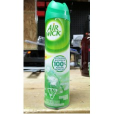 Air Refreshner - Airwick Brand - Aerosol - 100% Natural Propellant - Rain Garden Scent / 1 x 226 Gram