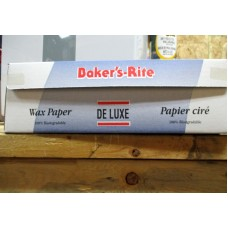 "Baking - Wax Paper - Baker's Rite Brand - Deluxe Wax Paper With Cutter - 100% Biodegradable / 1 x 375 Feet x 12"" Wide"