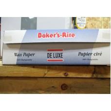 "Baking - Wax Paper - Baker's Rite Brand - Deluxe Wax Paper With Cutter - 100% Biodegradable / 1 x 375 Feet x 12"" Wide"