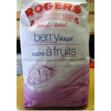 Sugar - Berry Sugar - Rodger's Brand - Extra Fine Granulated / 1 x 1 Kg