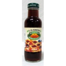 Syrup - E.D. Smith Brand - No Sugar Syrup 1 x 375 ml Bottle