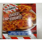 Frozen - Potatoe Skins - T.G.I. Fridays Brand - Cheddar & Bacon Potato Skins / 1 x 992 Gram Box