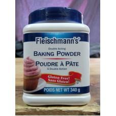 Baking Powder - Fleischmann's Brand - Gluten Free / 1 x 340 Grams