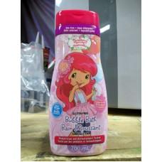 Shampoo - Bubble Bath - Strawberry Shortcake Bubble Bath - Tear Free - Dye Free - Hypo -Allergenic - Gluten Free - Strawberry Scented  / 1 x 700 ml Bottle
