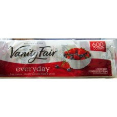 "Napkins - Vanity Fair Brand - 2 Ply / 13"" x 12.75"" / 6 x 110 Packages= 660 Napkins"