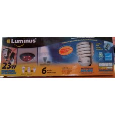 Bulbs - Luminus Brand  - 23 Watt Bulb - Energy Efficent /100 Watt Bulb / 1 X 6 Bulbs / $2.33  Per Bulb