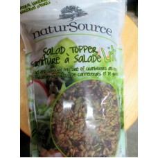 Nuts - Salad Topper - Natural Source Brand - Natural Ingredients - A Tort And Savoury Mixture Of Cranberries And Seeds / 1 x 1 Kg Resealable Bag