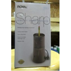 Office Supplies - Sharpener - Royal Brand - Electric Pencil Sharpener - Helical Steel Blade - Auto Stop/Start / Rubber Feet / 1 x 1 Sharpner