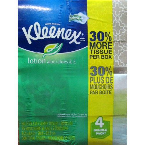 Customer contact plan for facial tissue kleenex shrugged